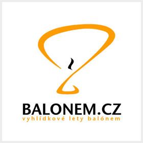 logo balonem.cz